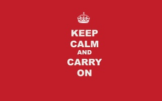 Previous: Keep Calm and Carry On