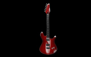 RED GUITAR wallpapers and stock photos
