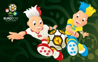 Next: Euro 2012 Mascots Paying the Game