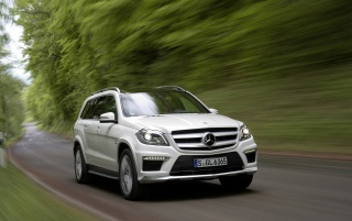 Random: 2013 Mercedes Benz GL 63 AMG Motion Front Angle