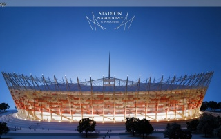 Stadion Norodowy Euro 2012 wallpapers and stock photos