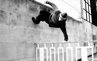 Parkour Traceur wallpapers and stock photos