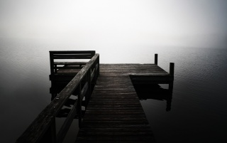 Lonely Pier wallpapers and stock photos
