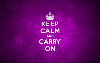 Keep Calm And Carry On Purple wallpapers and stock photos