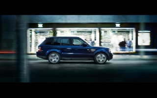 2013 Land Rover Range Rover Sport movimiento lateral wallpapers and stock photos