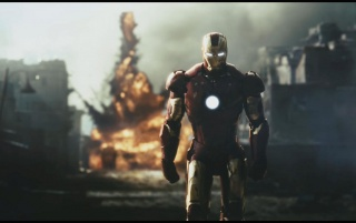 Ironman Explosion wallpapers and stock photos