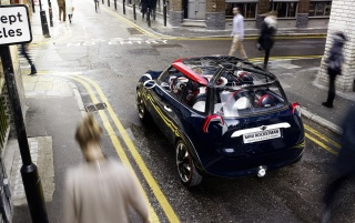 2012 Mini Rocketman Concept Static Rear wallpapers and stock photos