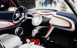 2012 Mini Rocketman Concept Dashboard wallpapers and stock photos