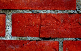 Random: Red Brick Wall