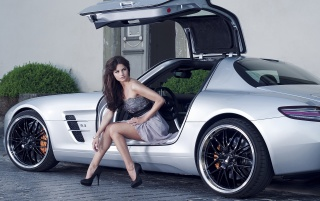 2012 Inden Design Mercedes Benz SLS AMG Model wallpapers and stock photos