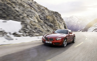 2012 BMW Zagato Coupe Motion Front Angle wallpapers and stock photos