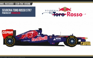 Toro Rosso F1 2012 wallpapers and stock photos