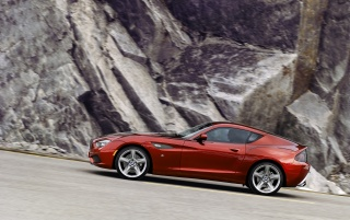 2012 BMW Zagato Coupe Motion Side wallpapers and stock photos