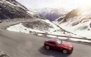 2012 BMW Zagato Coupe Motion Top Angle wallpapers and stock photos