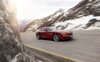 2012 BMW Zagato Coupe Motion Side Angle wallpapers and stock photos