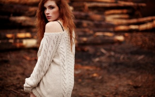 Beautiful Redhead Model wallpapers and stock photos