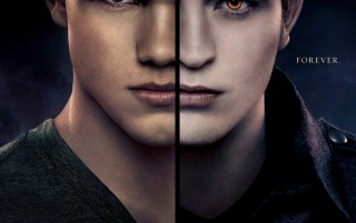 Breaking Dawn Part 2: Jacob and Edward wallpapers and stock photos