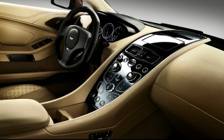 2013 Aston Martin Vanquish Motion Dashboard wallpapers and stock photos