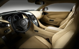 2013 Aston Martin Vanquish Dashboard Left wallpapers and stock photos
