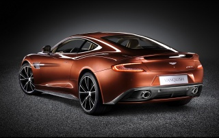 2013 Aston Martin Vanquish Studio Rear Angle wallpapers and stock photos