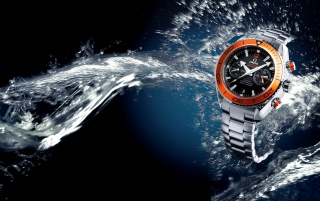 Random: Omega Seeamaster Orange