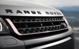 Random: 2012 Range Rover Evoque Special Edition with Victoria Beckham Front Grille