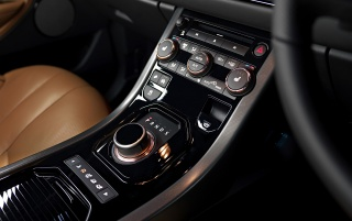 2012 Range Rover Evoque Special Edition with Victoria Beckham Static Console wallpapers and stock photos
