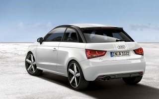 2012 Audi A1 amplified Static Rear wallpapers and stock photos