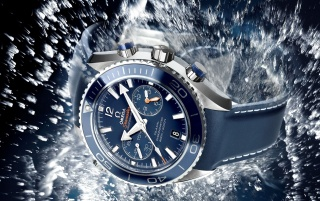 Blue Omega Seamaster wallpapers and stock photos