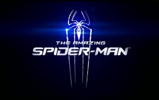 The Amazing Spider-Man Blue Logo wallpapers and stock photos