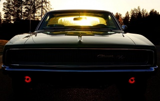 Old School Dodge Charger wallpapers and stock photos
