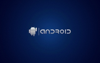 Random: Android on Blue