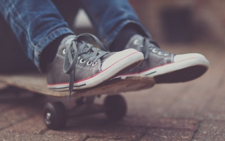 Skateboard and Shoes wallpapers and stock photos