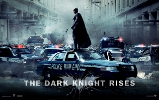 Batman in der dunklen Nacht Rises wallpapers and stock photos