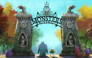 Monsters University Artwork wallpapers and stock photos