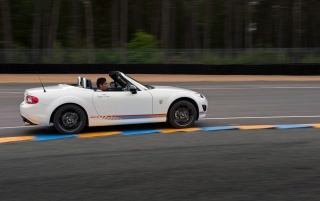 2012 Mazda MX 5 Kuro Special Edition Motion Side wallpapers and stock photos