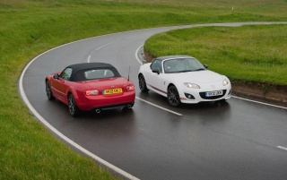 2012 Mazda MX 5 Kuro Special Edition Static Duo wallpapers and stock photos
