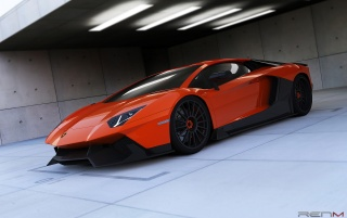 2012 RENM Lamborghini Aventador Limited Edition Corsa Static Front Angle wallpapers and stock photos