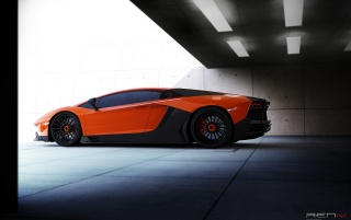 2012 RENM Lamborghini Aventador Limited Edition Corsa Static Side wallpapers and stock photos