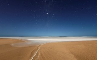 Beach and Stars wallpapers and stock photos