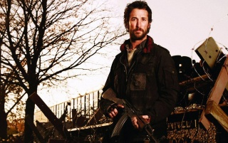 Noah Wyle Falling Skies wallpapers and stock photos