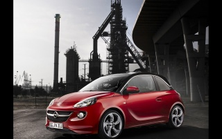 2013 Adam Opel Rojo Side wallpapers and stock photos