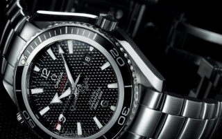 Omega Seamaster Carbon wallpapers and stock photos