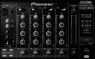 Pioneer Mischpult wallpapers and stock photos