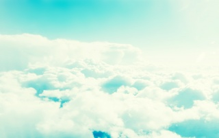Light Blue Cloudy Sky wallpapers and stock photos