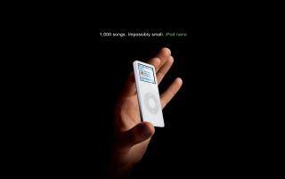 iPod nano in hand wallpapers and stock photos