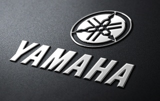 Yamaha Metall-Logo wallpapers and stock photos