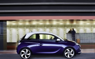 Opel Adam Blue Side Static wallpapers and stock photos
