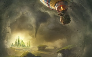 Oz The Great And Powerful Artwork wallpapers and stock photos
