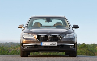 2012 BMW 7 Series Long Wheelbase Static Front wallpapers and stock photos